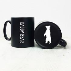 Carved Daddy Bear Mug