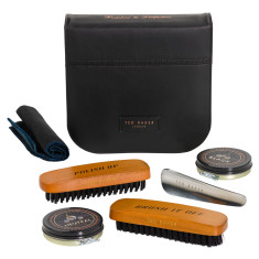 Ted Baker men's brogue shoe shine kit