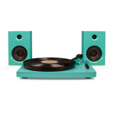 Crosley T100 Stereo Turntable with Speakers & Bluetooth (4 Colours)