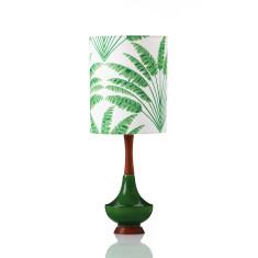 Small Electra table lamp in Freya fern