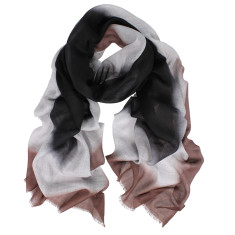 Cisco Dipped Wool Silk Scarf