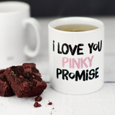 I Love You Pinky Promise Mug
