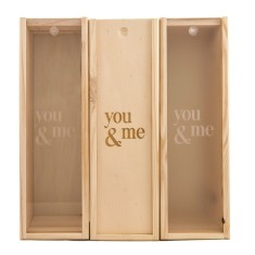 You & Me Wine Box