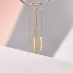Adorable Arrow Chain Earrings