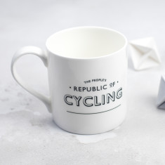 The People's Republic of Cycling Bone China Mug