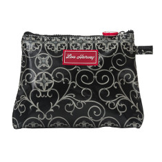Small cosmetic bag in Gabriels Gate print