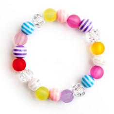 Bright elastic bracelet