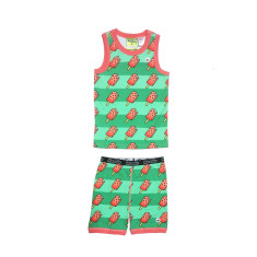 Watermelon Pop Tank & Biker set