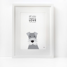 All you need is love... and a dog print