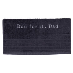 Personalised embroidered towel
