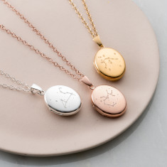 Zodiac Constellation Locket