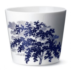 Ruth M landscape cup in blue by Anne Black