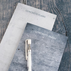 Concrete Plans Small Desk Jotter