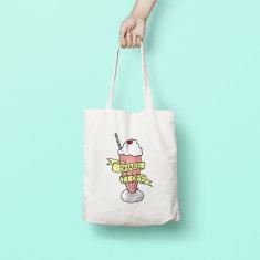 Pastel Shake It Off Tote Bag