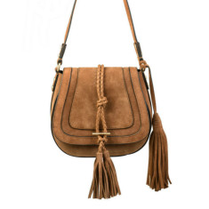 Harriet Mini Saddle Bag - Tan