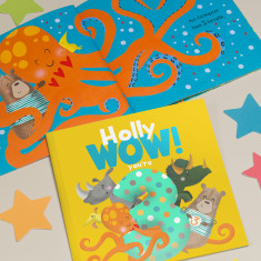Personalised 'Wow You're Three' 3rd Birthday Children's Book