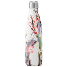 S'well insulated stainless steel bottle in spring blossom