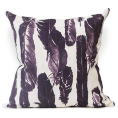 Amanteca Urban Aztec Cushion Cover in Imperial Purple