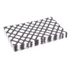 Grid paper napkins (3 packs of 20)