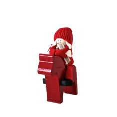 Santa on Horse Christmas decoration (various designs)