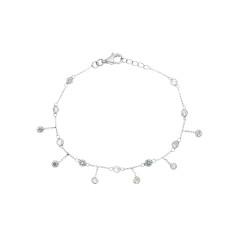 Alex bracelet in silver