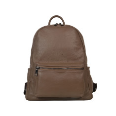 Roxy Taupe Leather Backpack