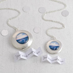 Personalised Wanderlust Locket