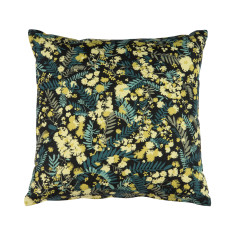 Cushion Cover - Wattle Black