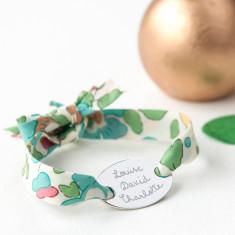 Liberty oval plate bracelet