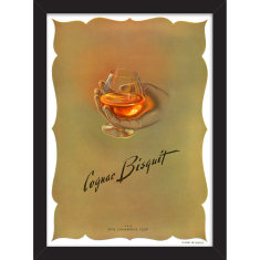 French Cognac Print