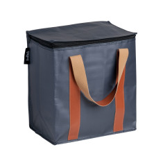 Insulated picnic bag in Stealth Black print
