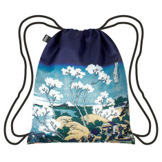 LOQI museum collection backpack in hokusai mt fuji