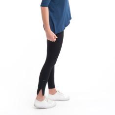 Ankle Zip Legging in Black