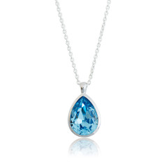 Aquamarine Tear Drop Pendant