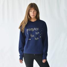 Prosecco Ho Ho Ho Unisex Christmas Sweatshirt Jumper