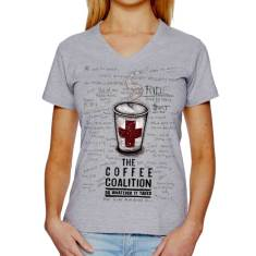 Coffee coalition women's t-shirt