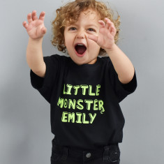 Personalised 'Little Monster' Children's T Shirt