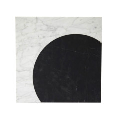 Eclipse Axis Marble Trivet