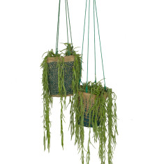 Hanging Pot Plant Holder - Ocean