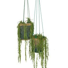 Hanging Pot Plant Holder - Ocean