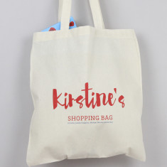 Personalised shopping tote bag