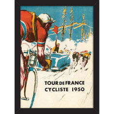 Tour de France Cycliste Print