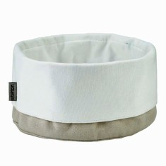 Stelton cotton bread bag sand/white