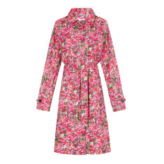 Women's packable raincoat in Blossom