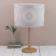 Nickel lampshade