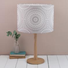 Nickel lampshade