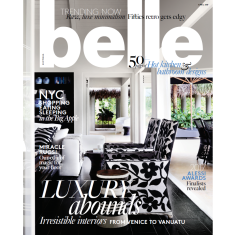 belle magazine subscription (8 issues)