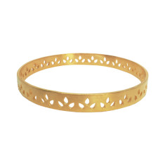 Lily Bangle Gold