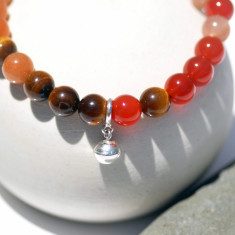 I love chakras' crystal fertility bracelet with bell