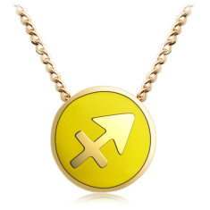 Zodiac Sagittarius necklace